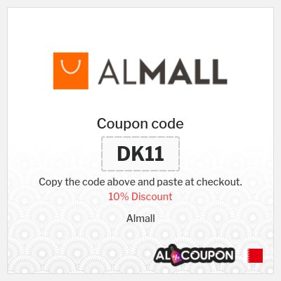 Almall Discount Code | 10% off all products