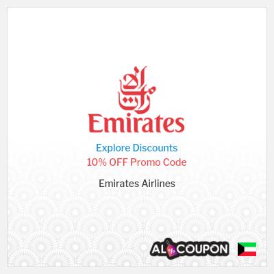 Emirates Cheap Flights | Promo Code 10% off Economy Class