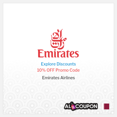 Emirates Cheap Flights | Promo Code 10% off Economy Class