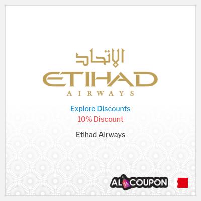 Etihad Airways Promo Code    10% off Airline Tickets