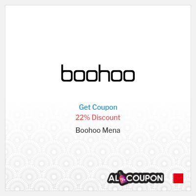 Boohoo Discount Code   22% off all items from Boohoo Mena