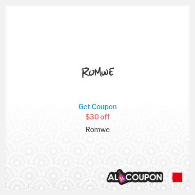 Romwe Promo Code 2020   $30 off orders exceeding $269