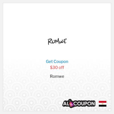 Romwe Promo Code 2020 | $30 off orders exceeding $269