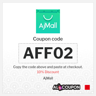 Ajmall Coupon Code | 10% off sitewide