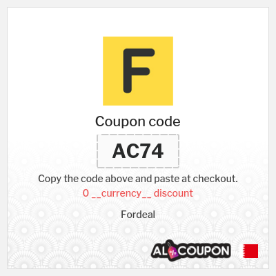 Fordeal Coupon Code   2020 Discounts & Promotions