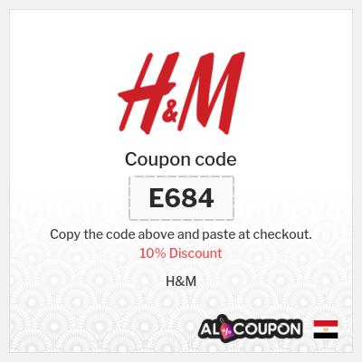 H&M Offers & Promo Codes Egypt   10% Discount Sitewide