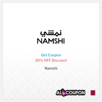 30% Namshi Promo Code 2020   Discount valid for new customers