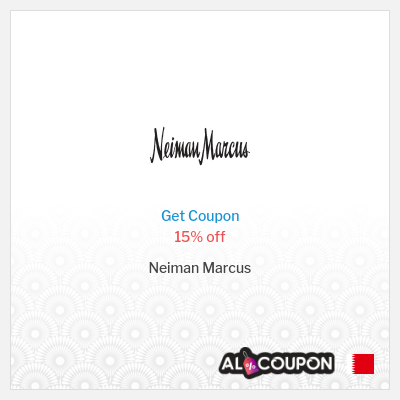 Neiman Marcus promo code 2020 | 15% off of first order