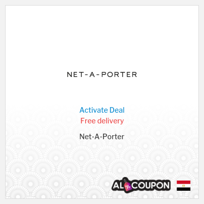 Net a Porter Promo Code | Free shipping to Egypt