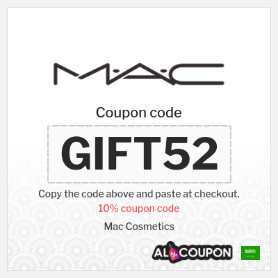 Mac cosmetics online Saudi Arabia | Discount codes & coupons