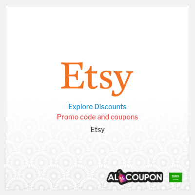 Etsy Discount Codes, Coupons & Vouchers   Valid in Saudi Arabia