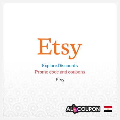 Etsy Discount Codes, Coupons & Vouchers | Valid in Egypt