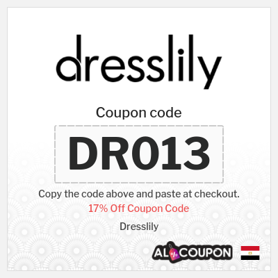 17% Dresslily Discount Code | Coupon valid sitewide