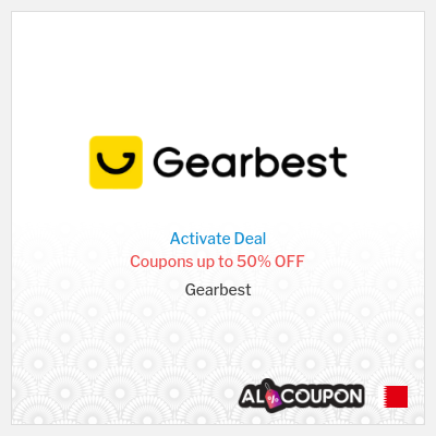Up to 50% Gearbest discount codes | For Bahrain Users