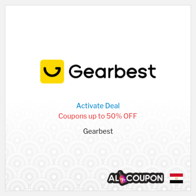 Up to 50% Gearbest discount codes   For Egypt Users