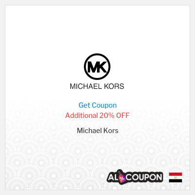 20% Michael Kors promo code 2020 | Discounts up to 50% off
