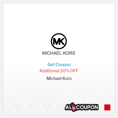 20% Michael Kors promo code 2021 | Discounts up to 50% off