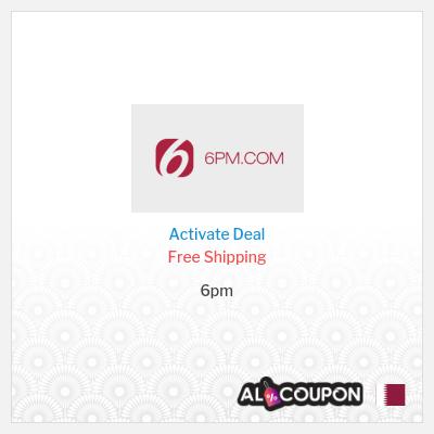 6pm promo code 2021 | Free shipping for orders above 182.4 Qatari Riyal