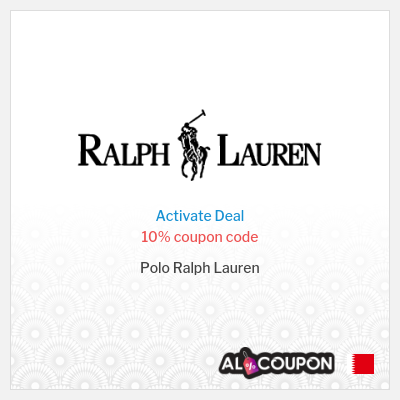 10% Ralph Lauren discount code 2021 | First order Only