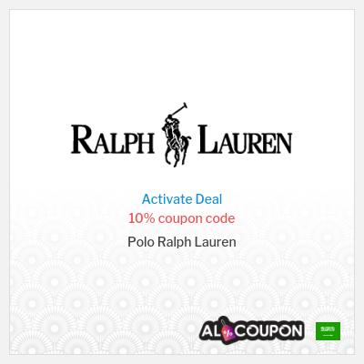 10% Ralph Lauren discount code 2021 | First order Only