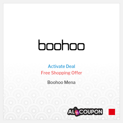 Boohoo Free Shipping Offer   To all Bahrain cities