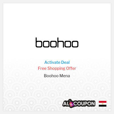 Boohoo Free Shipping Offer | To all Egypt cities