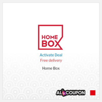 Shop freely with Home box free shipping | Bahrain