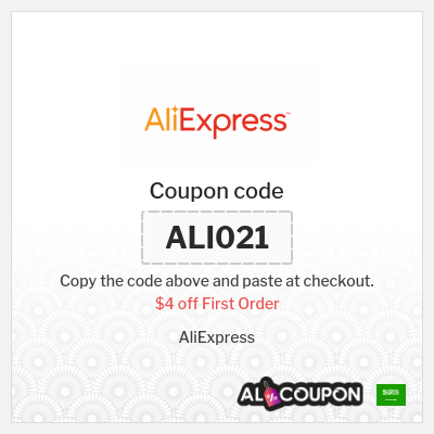 Aliexpress Promo Codes, Coupon Codes & Discounts Saudi Arabia