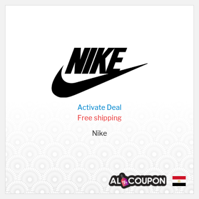 20% off Nike Offers & Coupons | Free shipping to Egypt
