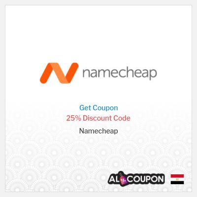 Namecheap coupon code Egypt | 25% OFF Starter Plan