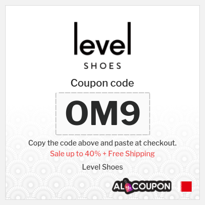 Level Shoes Sale up to 40% | At Level shoes Bahrain