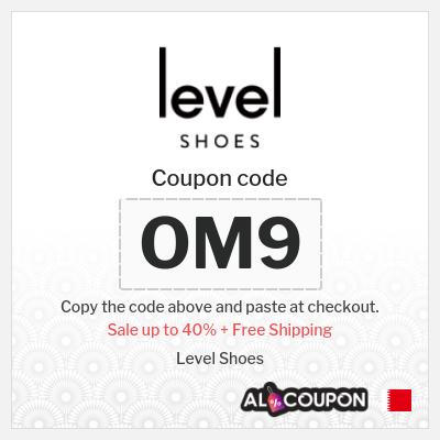 Level Shoes coupon codes + Free shipping to Manama, Riffa, Muharraq... etc.