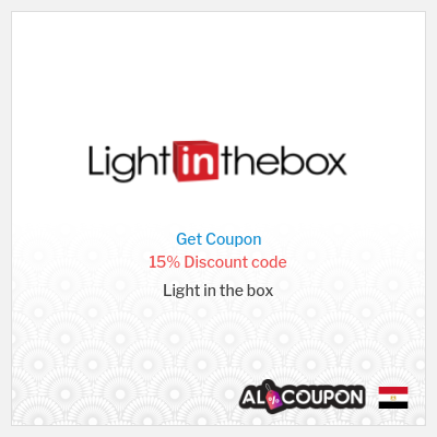 Lightinthebox coupon code Egypt | %15 discount valid sitewide