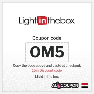 15% Lightinthebox coupon code 2021   Valid on EVERYTHING