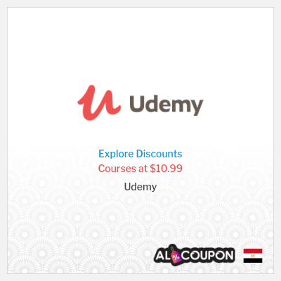 Udemy coupon code 2020 | Buy courses starting from 175.6 Egyptian pound