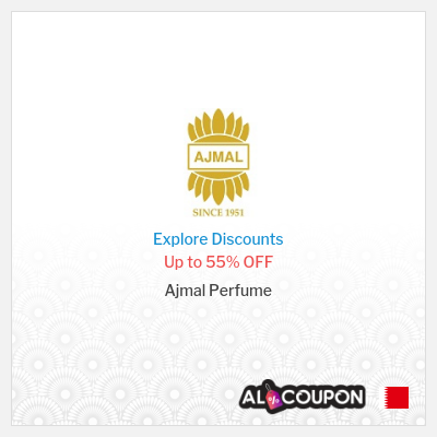 Ajmal Perfume coupon code Bahrain | Up to 55% OFF