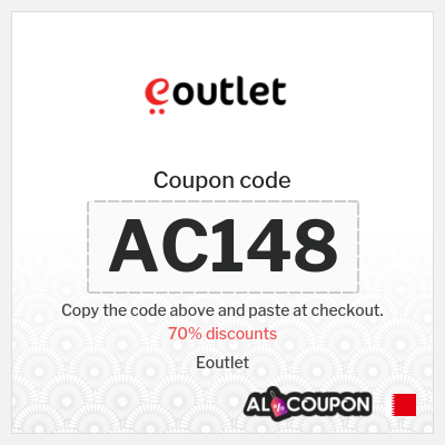 Eoutlet discount code Bahrain   For all Eoutlet products