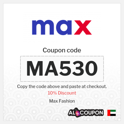 Max UAE Coupons and Promo Codes 2020